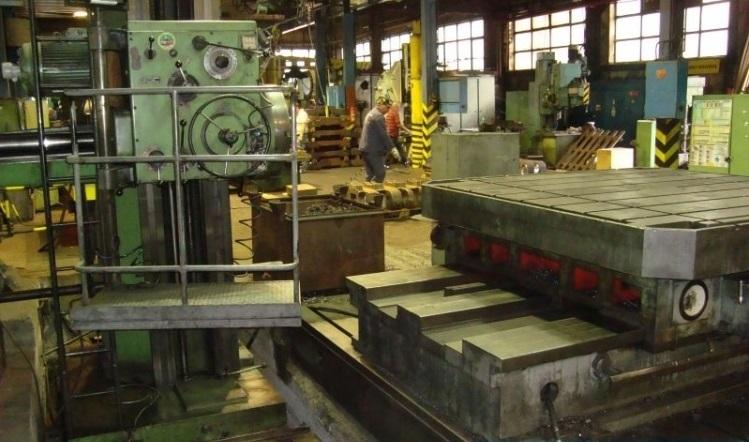 Tos varnsdorf hp 100 floor type boring machine exapro for 100 floors floor 35