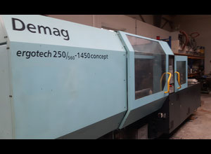 DEMAG Ergotech 25/260-1450 Injection moulding machine