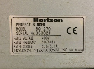 Horizon BQ 270 P70111100