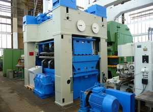 WMW Gotha UBR 16x2500/1-10K Blechrichtmaschine
