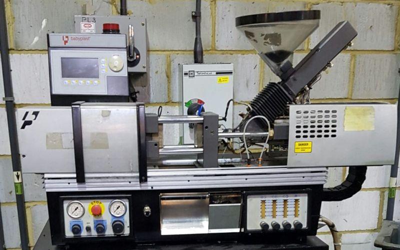 babyplast injection moulding machine