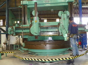 Broadbent B2750 vertical turret lathe