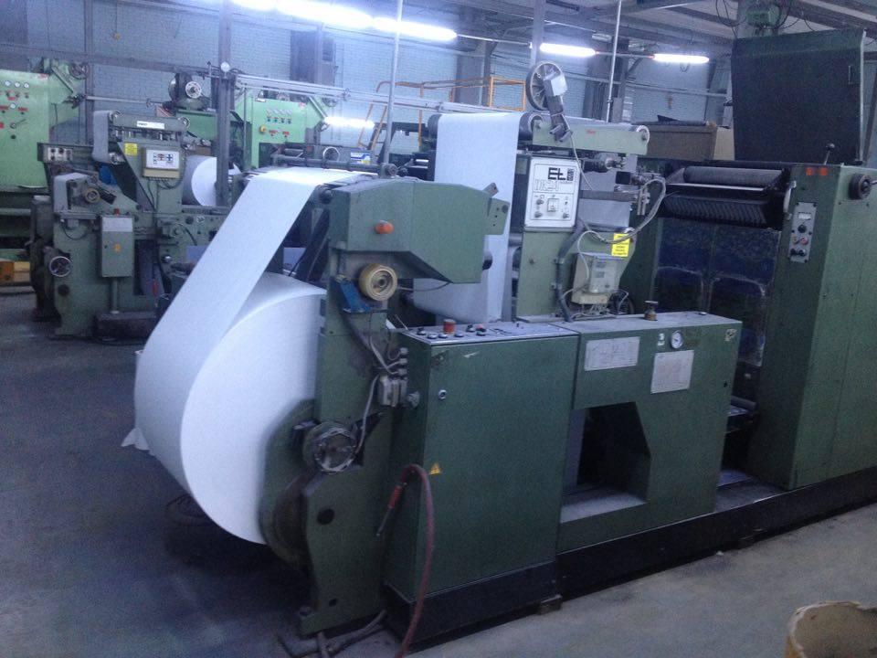Muller Martini Process Web continuous printing press - Exapro