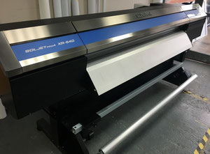 Roland XR-640 Soljet Pro 4 with 8 colors and white print and cut