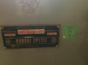 Buroni Opessi 10 t Measuring unit