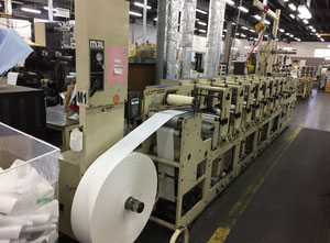 Mark Andy 2200 Label printing machine - flexo