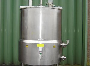Glatt Pharma Liquid Vessel Tank