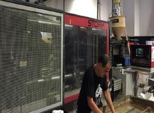 Stork SX 3000 - 1400 Injection moulding machine