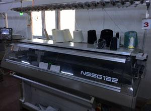Macchina per lavorare la maglia rettilinea Shima Seiki Nssg 122 SV