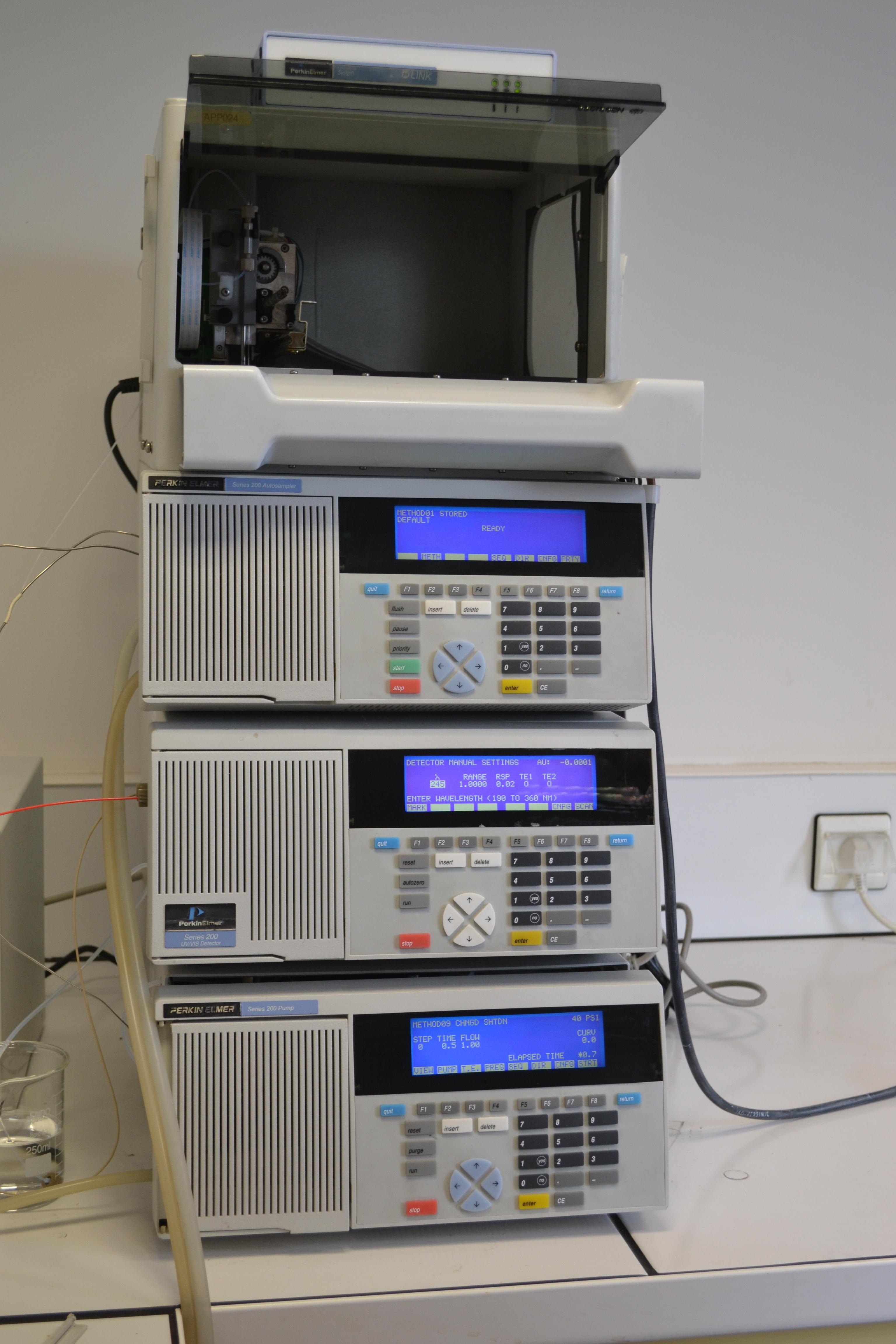 Perkin Elmer Hplc S 233 Rie 200 Analytical Instrument Exapro
