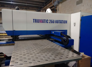 Used Trumpf TC 260 CNC punching machine