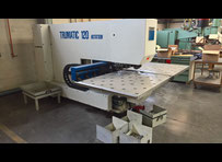 Trumpf 120 rotation Punching machine / nibbling machine with CNC