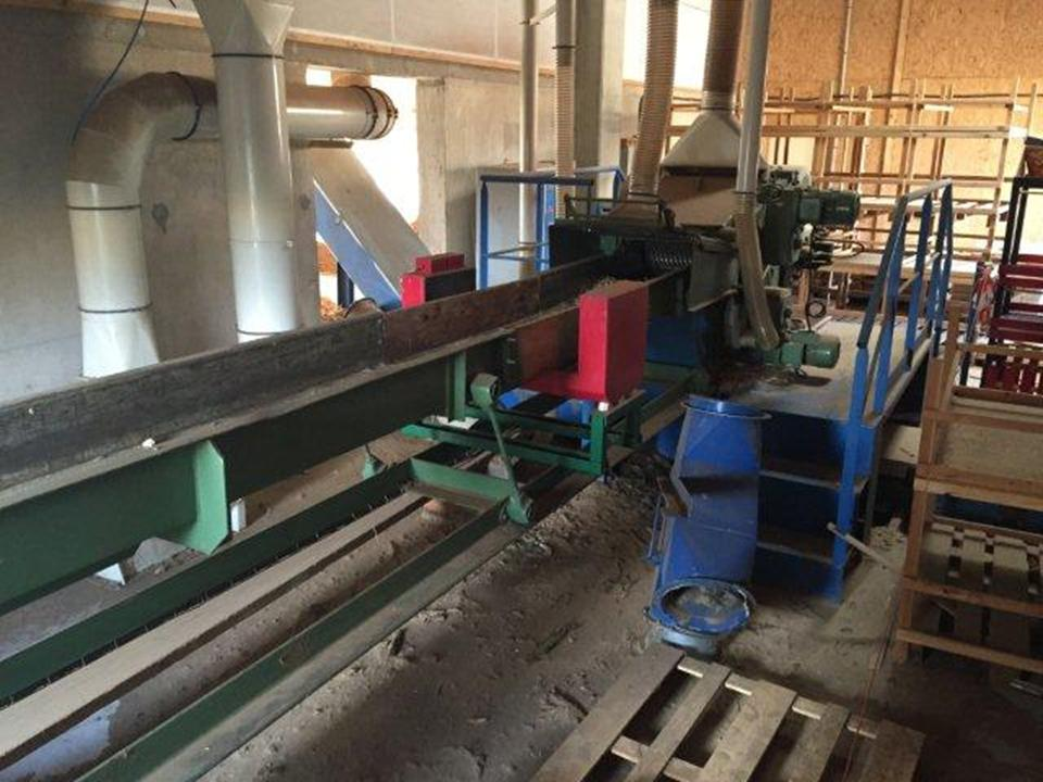Broyeur bois haas hth 200 510 2wv machines d 39 occasion - Broyeuse a bois ...