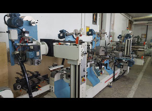 Makor DORA 7 Machine for Coating wrapping Hot Stamping mouldings