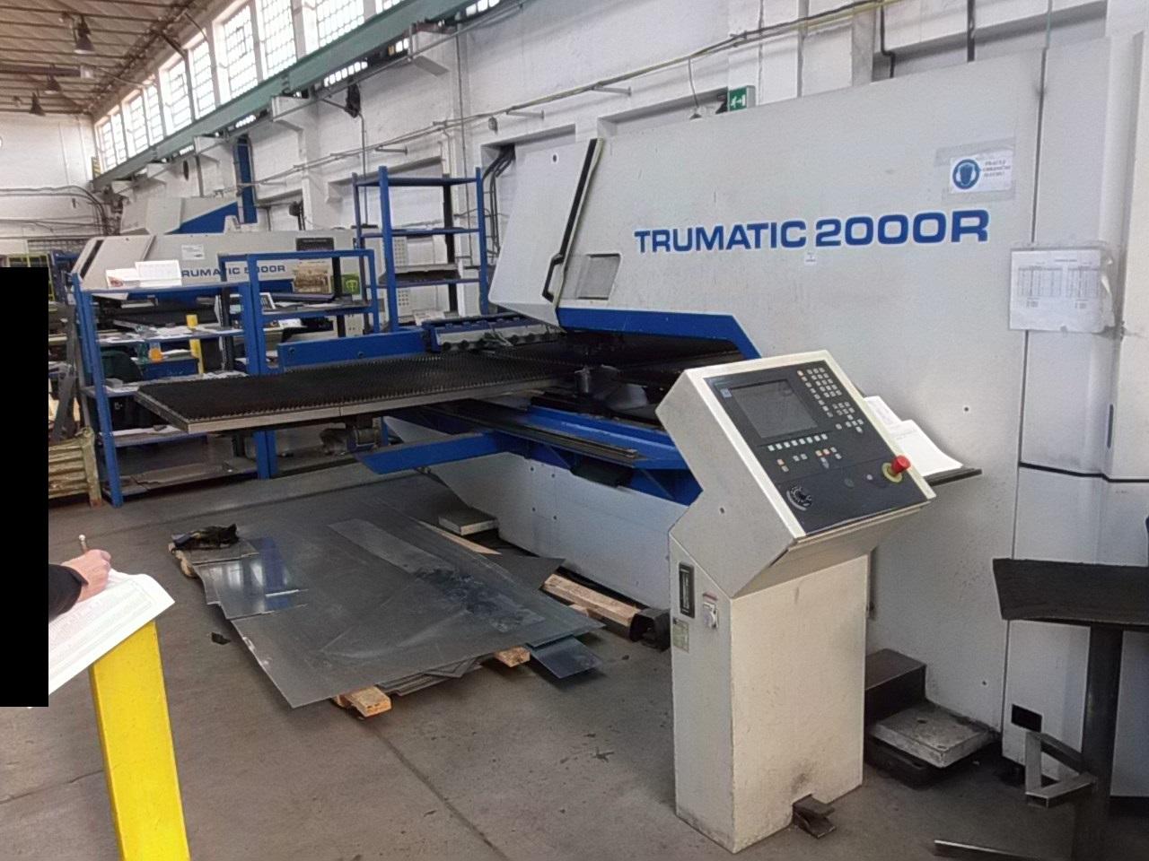 Trumpf Trumatic 2000 R Cnc Punching Machine Exapro