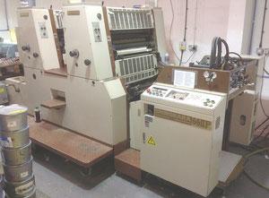 Ofsetový dvoubarevný stroj Shinohara 66llp