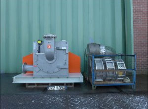 Used Pallmann PPS-6-180 Mill