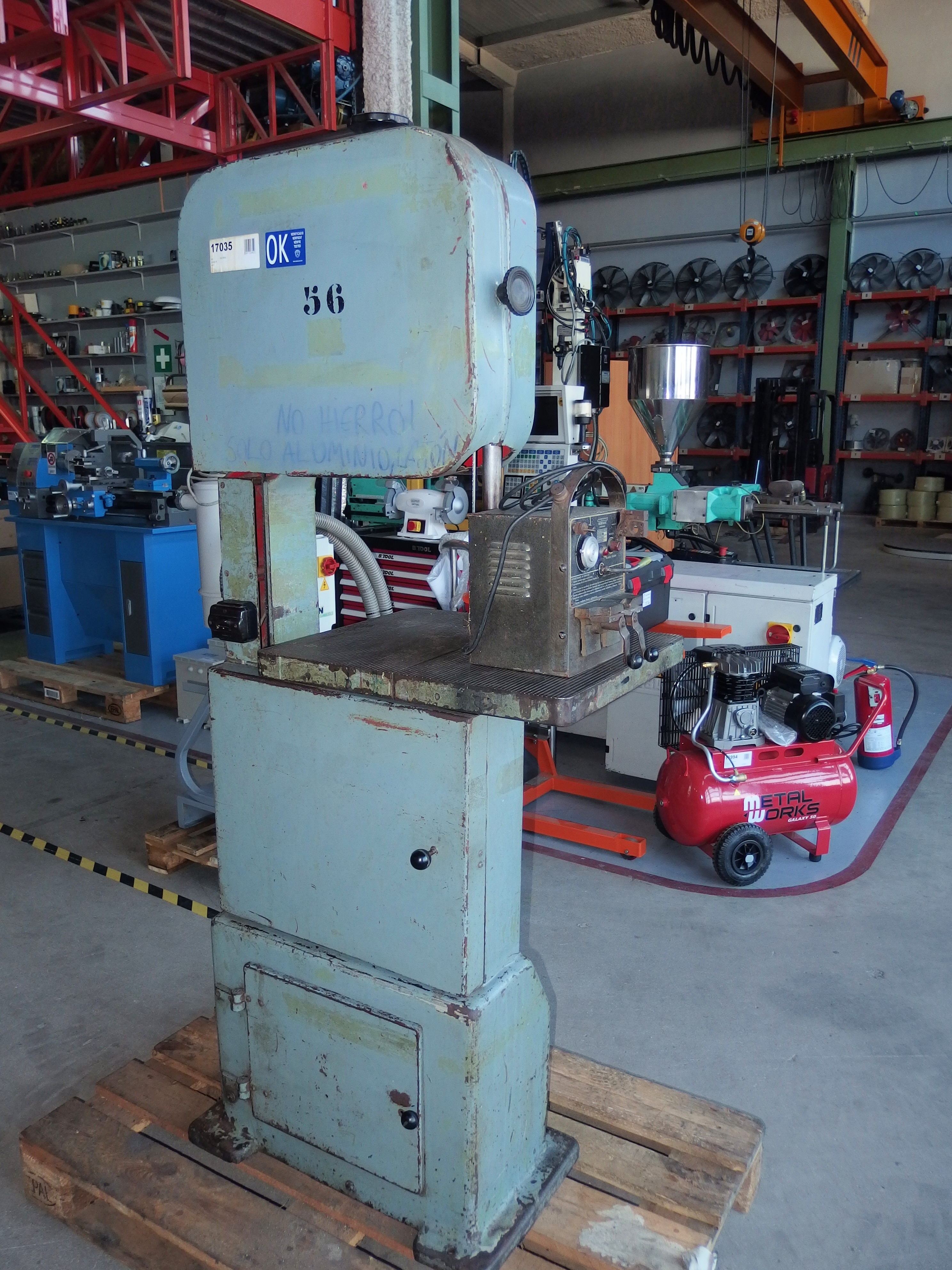 Inca 400 Band Saw For Metal Exapro