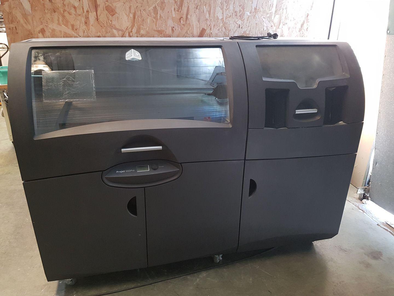 imprimante 3d projet 660 pro de 2015 machines d 39 occasion exapro. Black Bedroom Furniture Sets. Home Design Ideas
