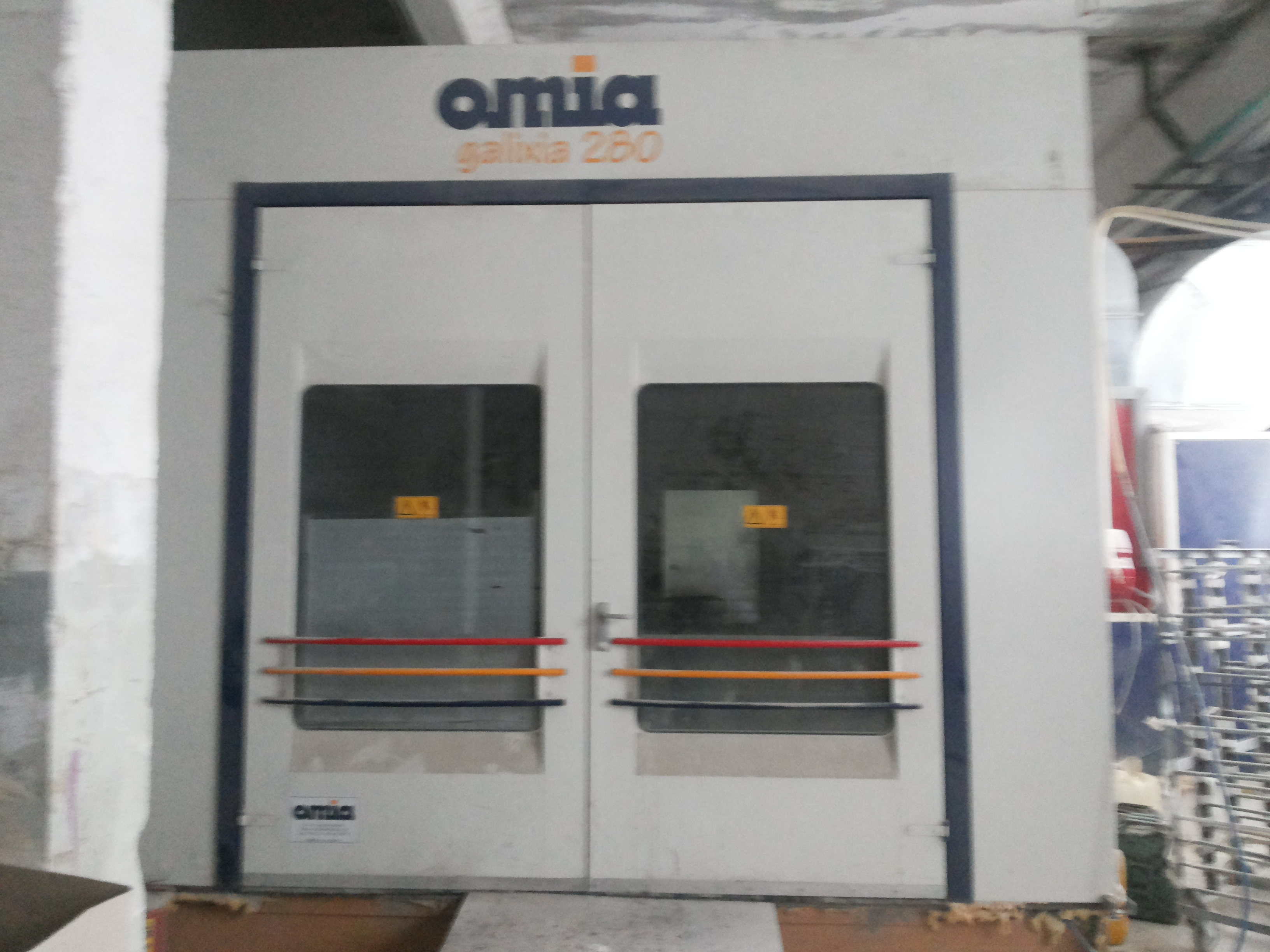 cabine de peinture omia galixia 280p machines d 39 occasion exapro. Black Bedroom Furniture Sets. Home Design Ideas