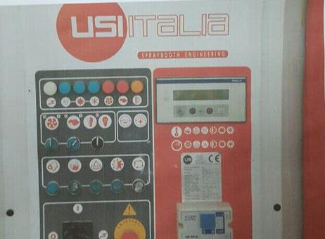 Cabina di verniciatura usi italia chronotech macchinari usati exapro - Cabina pintura ocasion ...
