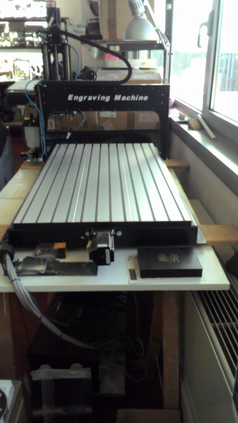 Pantografo Fresatrice Computerizzato RM-EasyStep 3D cnc RM Ronchini Macchinari usati - Exapro