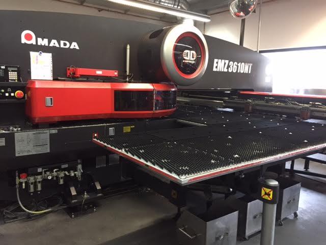 Amada Emz 3610 Nt Punching Machine Nibbling Machine With