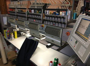 Used ZSK 4 teste Embroidery machine