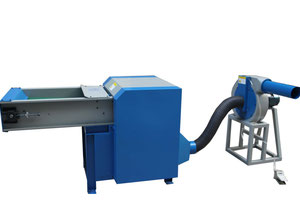 Fiber carding and pillow filling machine stuffing machine Non weaved machine