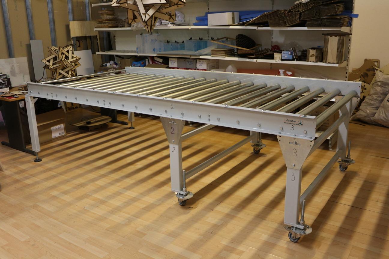 Heavy Duty Roller Conveyor table - Exapro