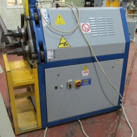 Curvadora de tubo tauring ds 60 hv plus maquinas de for Curvadora de tubos segunda mano