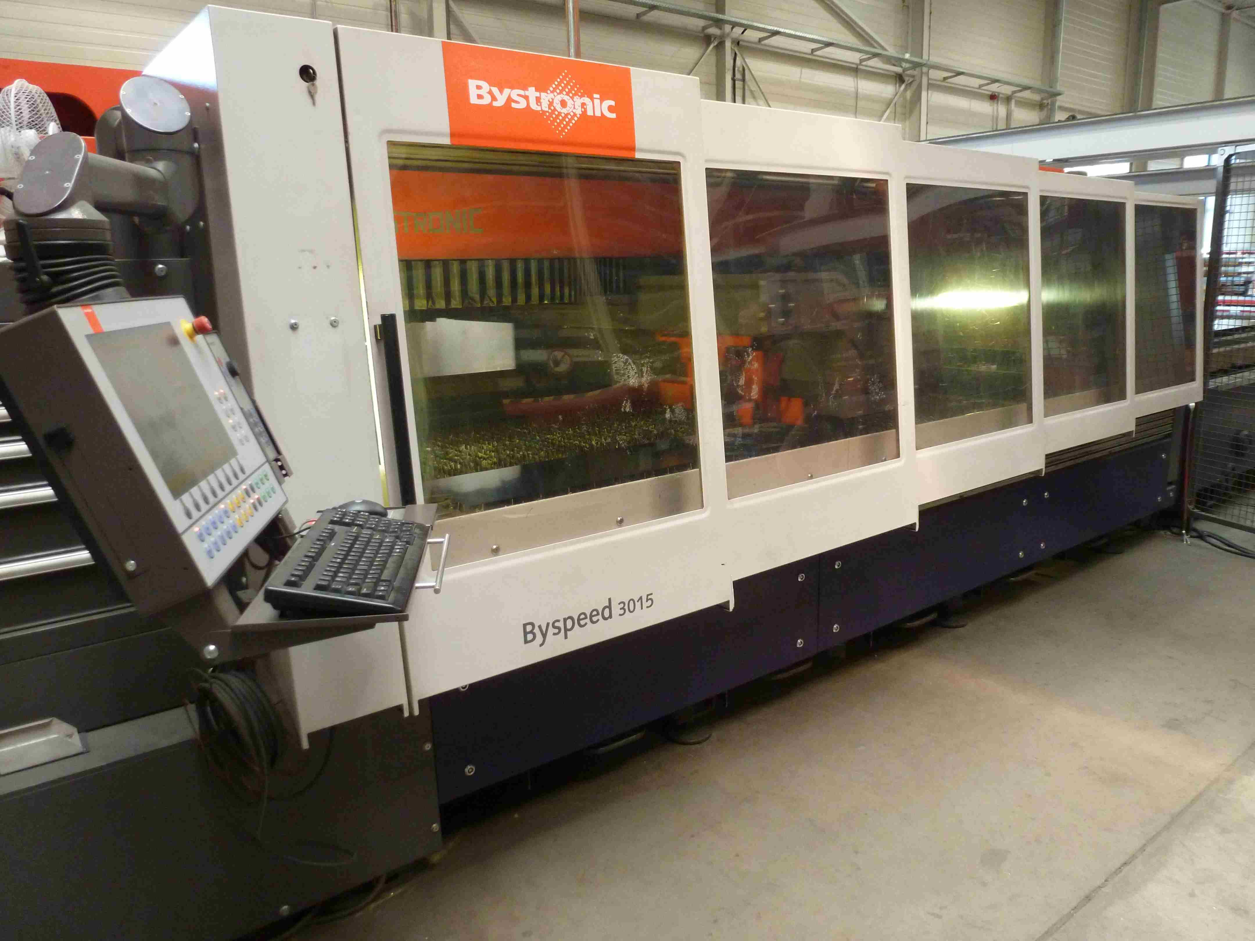 Bystronic Byspeed 3015 Laser Cutting Machine Exapro