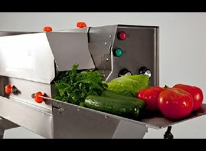 Ro-Ca CD Vegetable and fruit cutting, washing and blanching machine