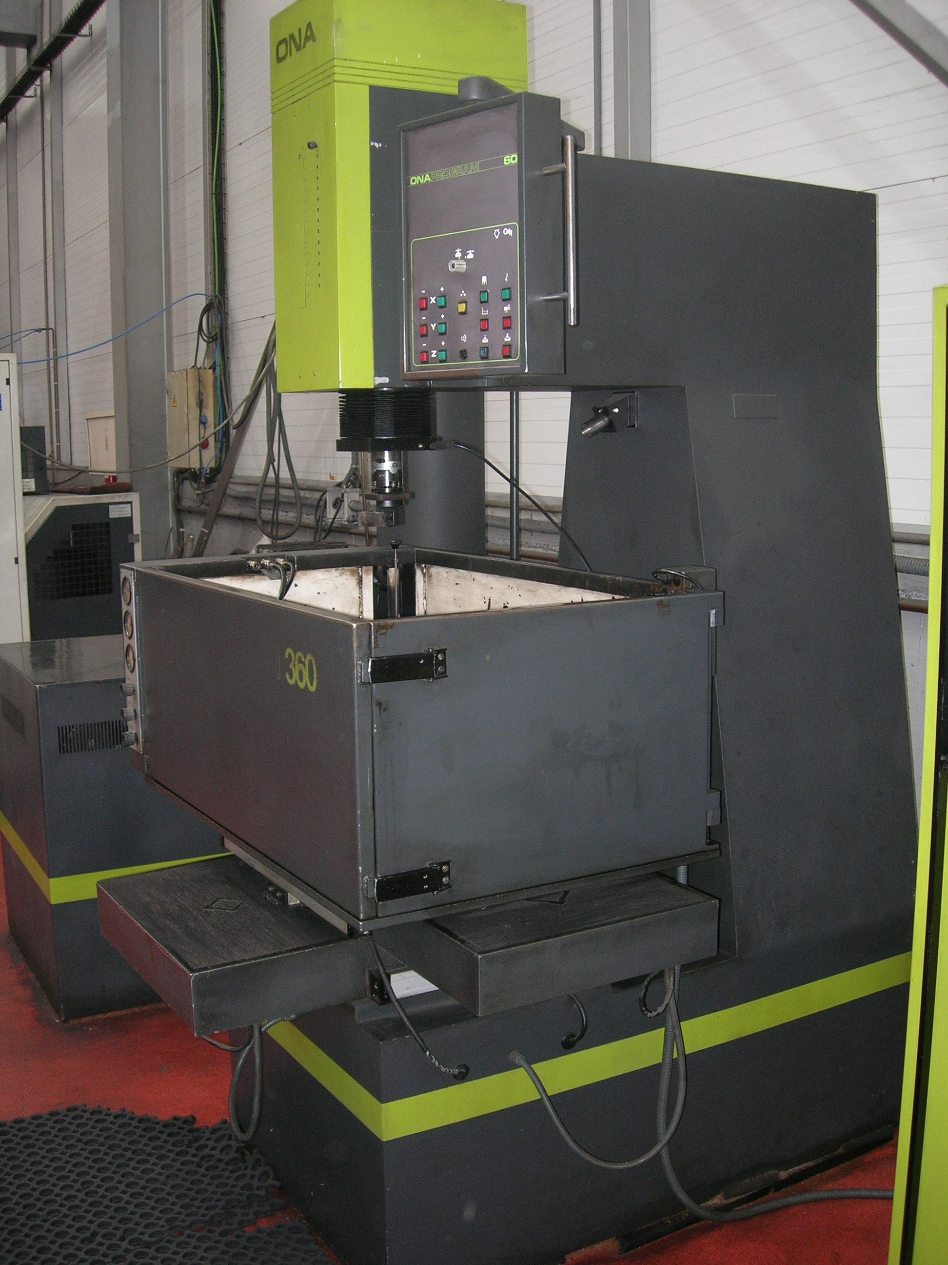 Máquina de electroerosión por penetración Ona 360 Maquinas de segunda mano - Exapro