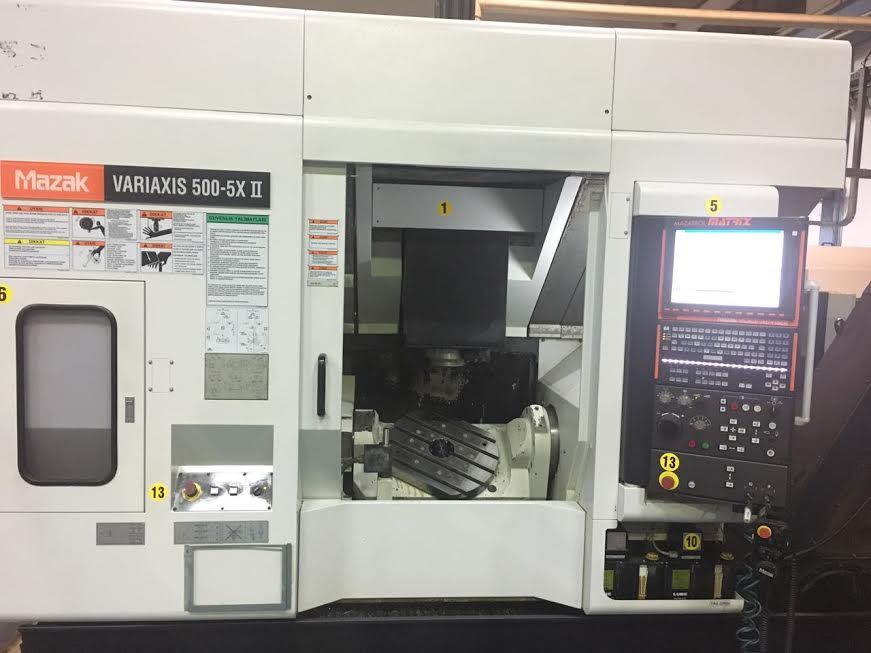Mazak Variaxis 500 5X II Machining center - 5 axis - Exapro
