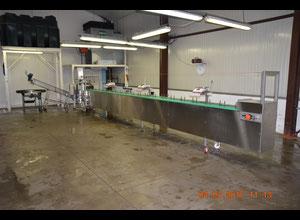 Machine de découpe, lavage et blanchiment de fruits et légumes CBA cyclop
