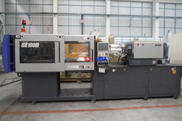 Sumitomo Se100d C160 2005 Injection Molding Machine
