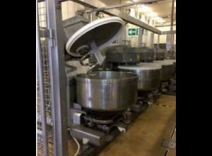 Mecatherm VMI Mixers Baguette and Bun Roll Complete bread production line