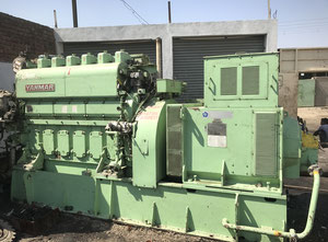 Yanmar 6N18AL-SN engine with spare parts..