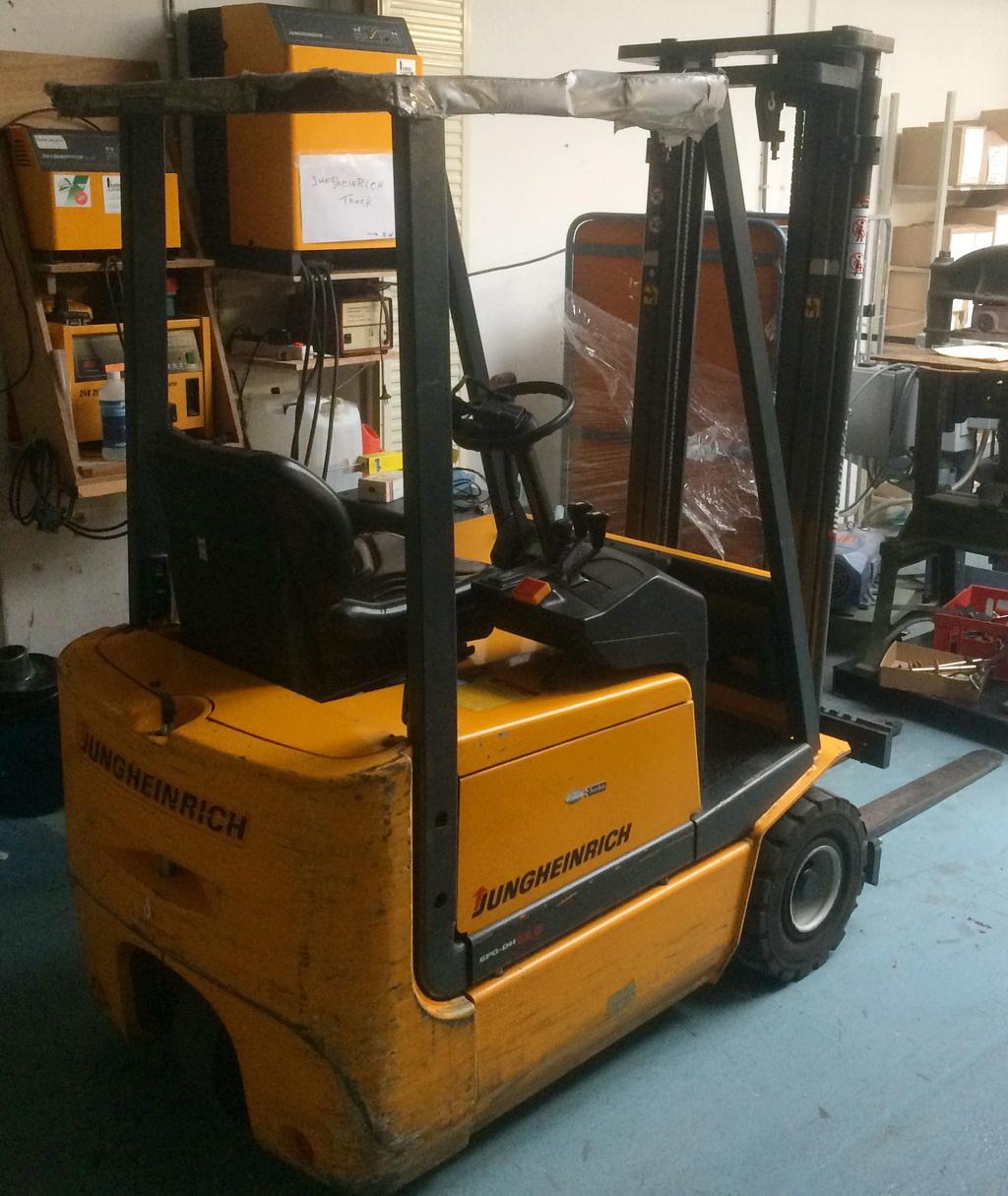 Electric Forklift Jungheinrich Erv308: 5G115-330ZT Electric Forklift