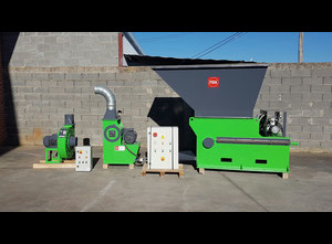 Fida MF15 Wood crushing machine with refiner