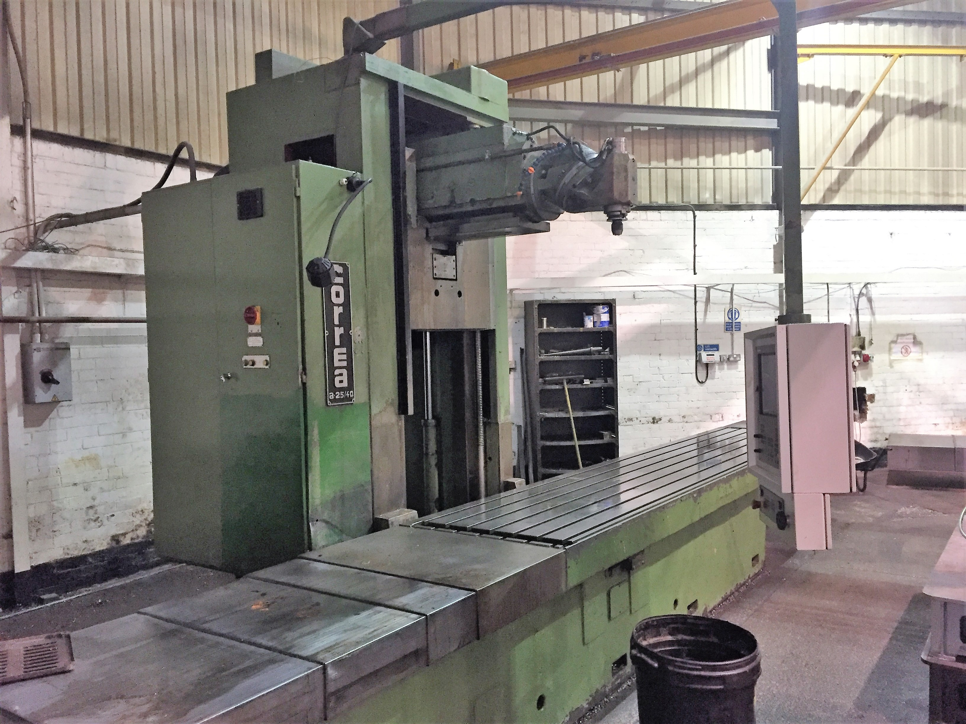 Correa A25 40 Cnc Vertical Milling Machine Exapro