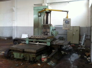 Alesatrice Stankoimport Ø MANDRINO 110 CONO MORSE 6 TAVOLA 1250 x 1120 mm Table type boring machine
