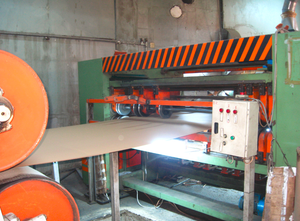 Turkish line for production of corrugated board