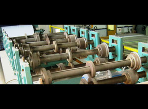 Climavent CL-8 roll forming line