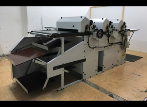DCM IM 183 / 3 Label printing machine - flexo