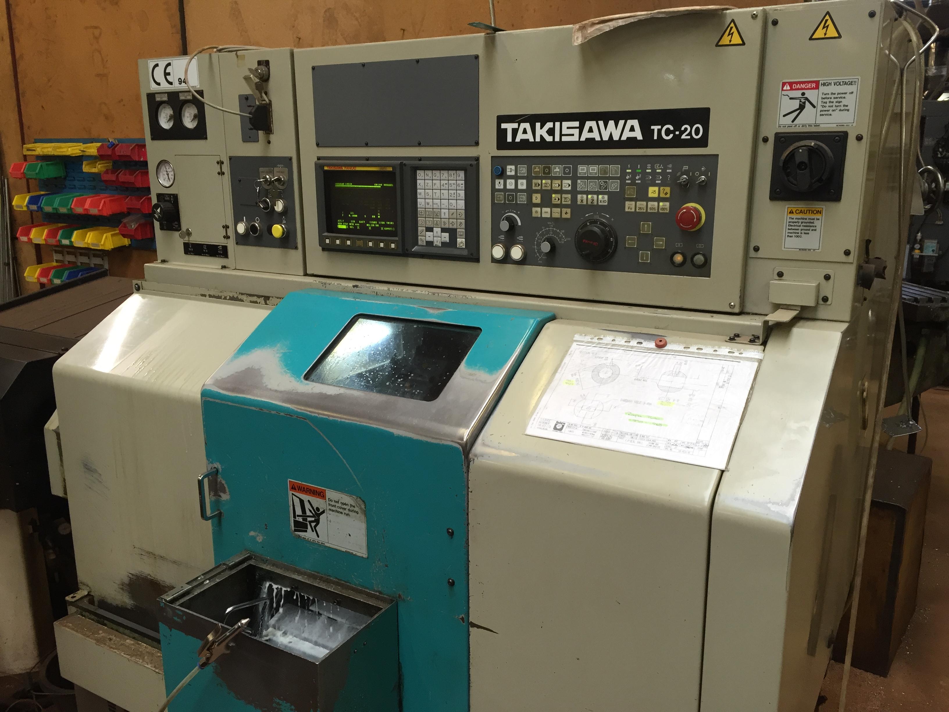 TAKISAWA TC-20 cnc lathe - Exapro