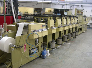Impresora de etiquetas flexografía Mark Andy 4120