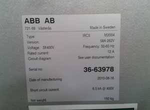ABB IRB 360 M 2004 Industrial Robot