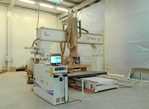 Digima E9 2030 D Wood CNC machining centre - 5 Axis